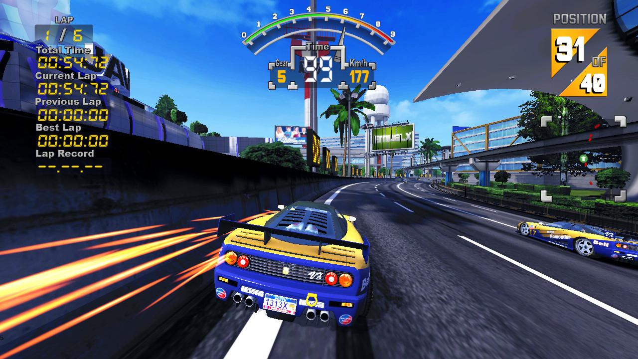 Arcade Driving School >> '90s Super GP